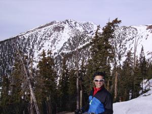 Blessed Pilgrimage: Student Cerame Skis into Sartori