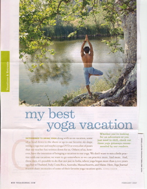 Coach In Yoga Journal? The Rumor is Settled NOW!
