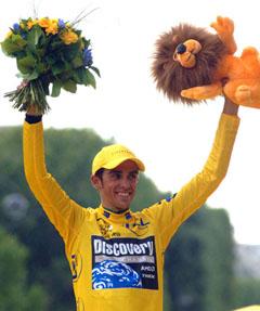 Coach's Ode To Contador! Team Discovery Conquers The Tour de France Lancelessly!