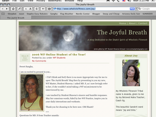 """As Promised; """"THE JOYFUL BREATH"""" BLOG Launches Today!!!"""