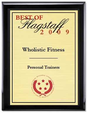 Wholistic Fitness® wins Best of Flagstaff Personal Trainers