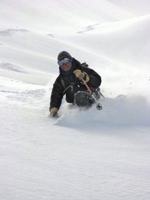 Tele Heaven; it ain't skiing till the heel is freein'…