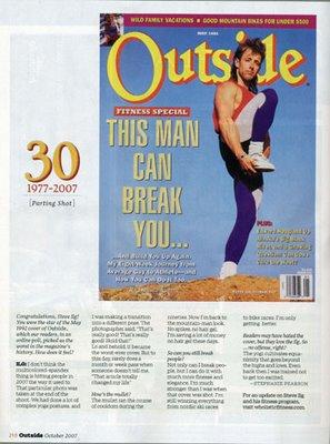 OUTSIDE Magazine exposure exposes 15 years of Teacher/Student Love